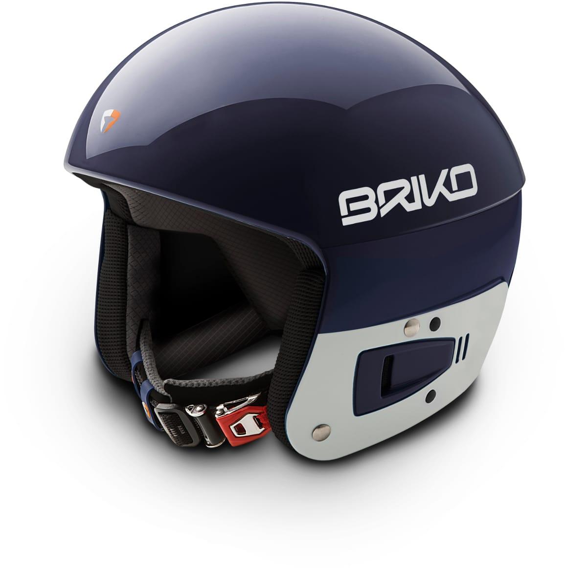 Briko Vulcano FIS JR helmet -Blue Sky White Ash