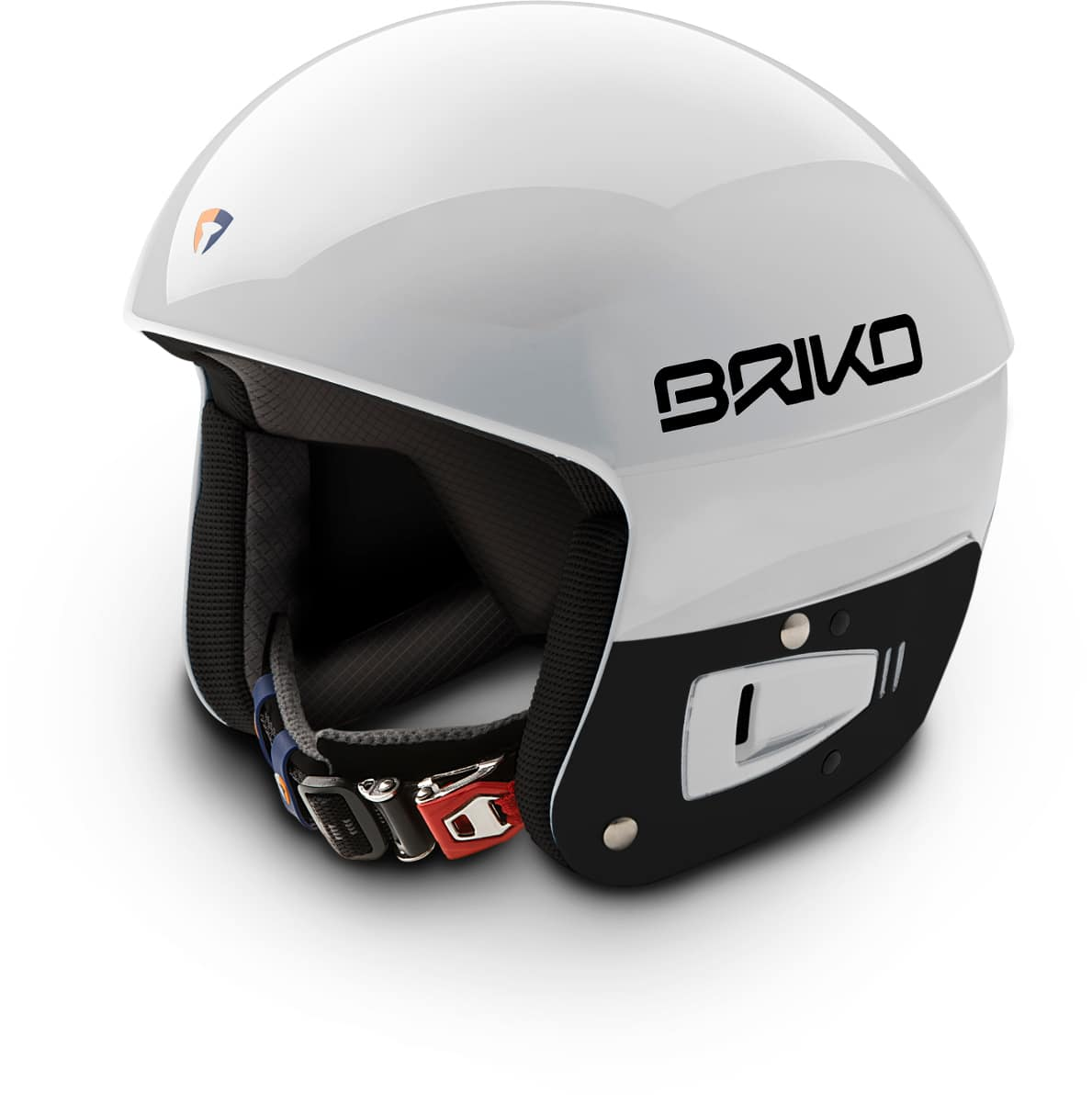 Briko Vulcano FIS JR Helmet - White Ash