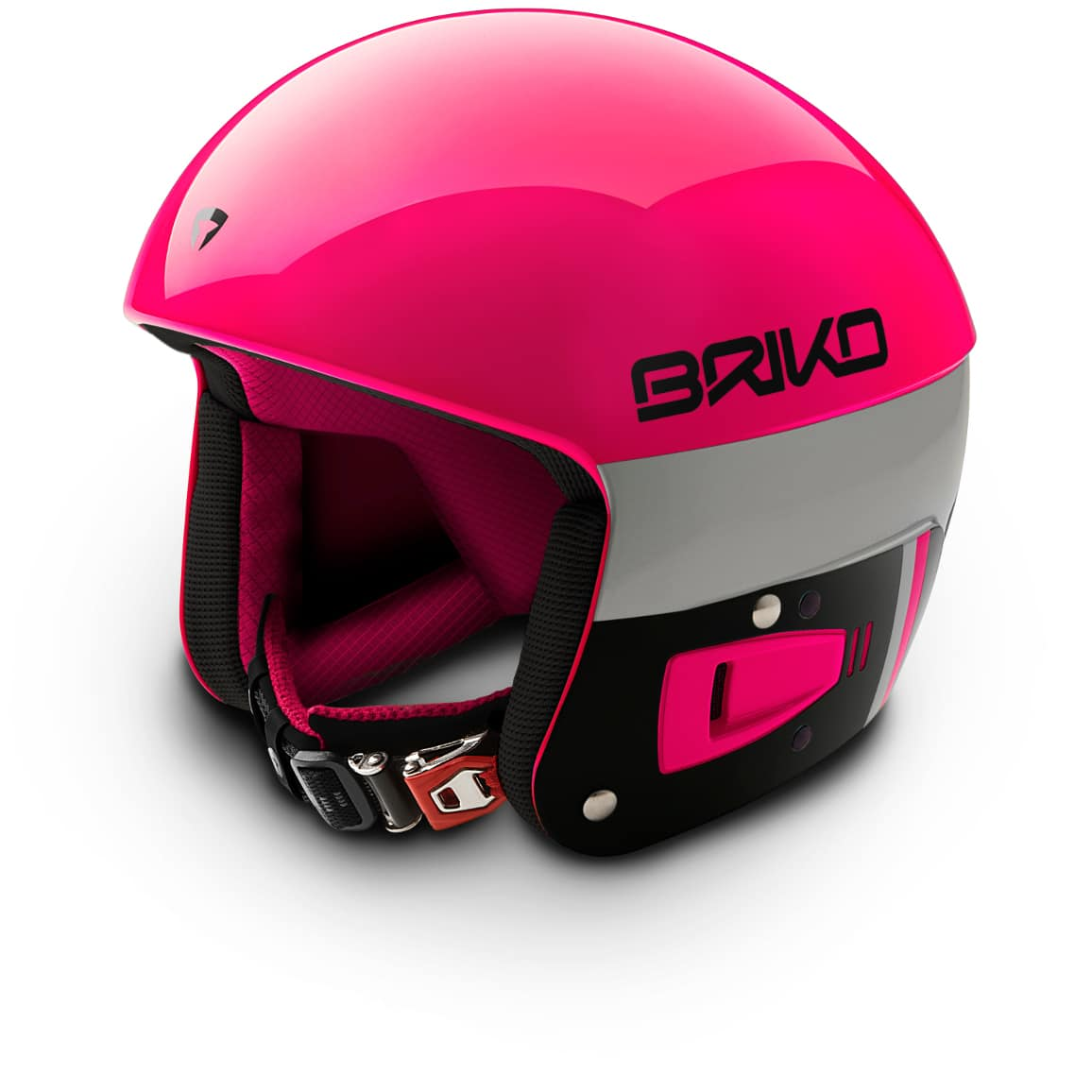 Briko Vulcano FIS Helmet - Pink Black