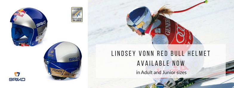Briko Lindsey Vonn Red Bull helmets available now
