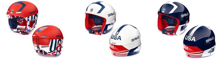 New USA collection ski helmets from Briko USA