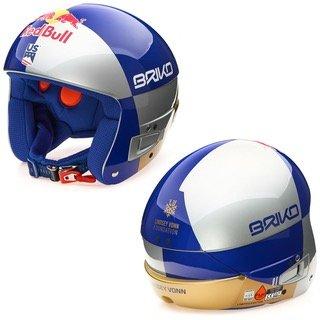 Briko Vulcano FIS Lindsey Vonn Red Bull helmet