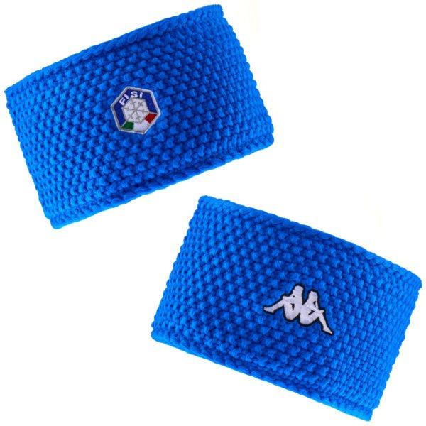 KAPPA 6CENTO BLADE1 FISI Headband - Azzurro ITALIA