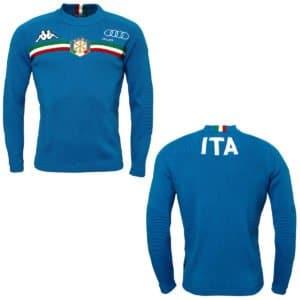KAPPA 6CENTO 608A FISI Sweater - Azzurro