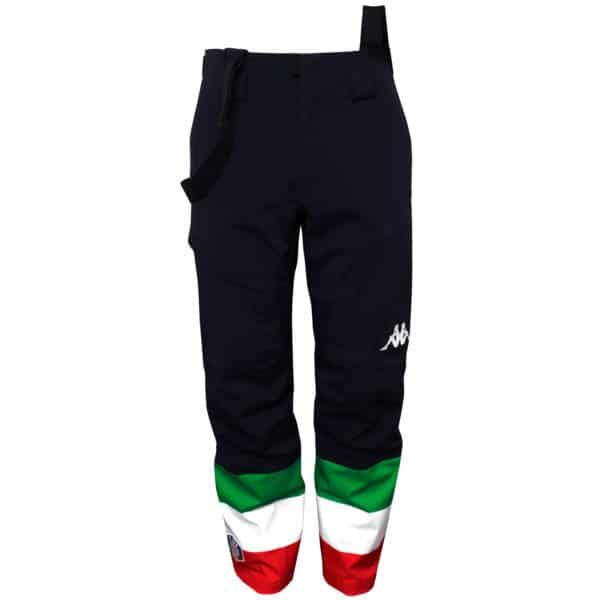 KAPPA 6CENTO 626A FZ FISI TEAM Ski Pants - Blue Nights