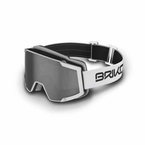 LAVA 7.6 Goggles - 2 lenses - matt-white-sm3p1-silver-mirror-pink