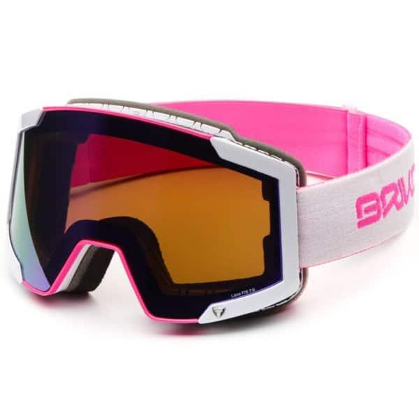 LAVA 7.6 Goggles - Matt Pink White/PM3P1 Purple Mirror - Pink