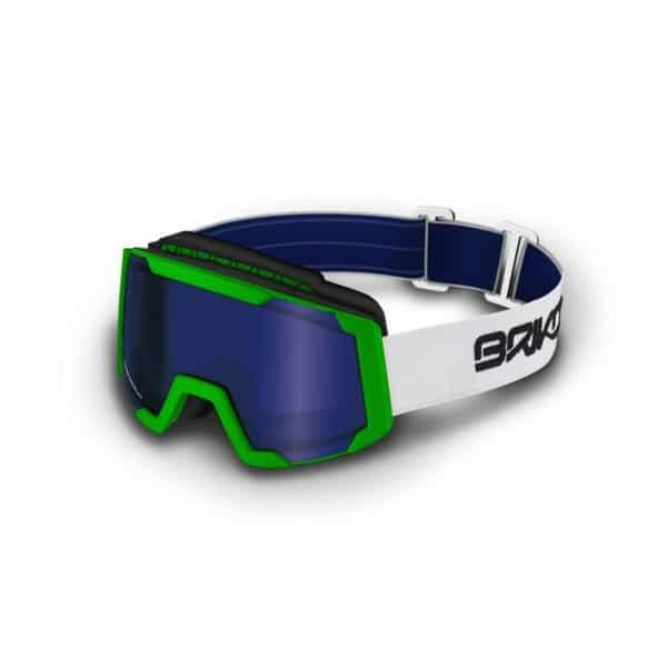 LAVA XL Goggles - Matt Sulfuric Green/P1 Pink