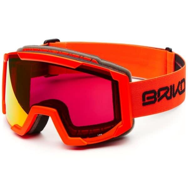 LAVA Goggles - Orange Fluo/RM3 Red Mirror