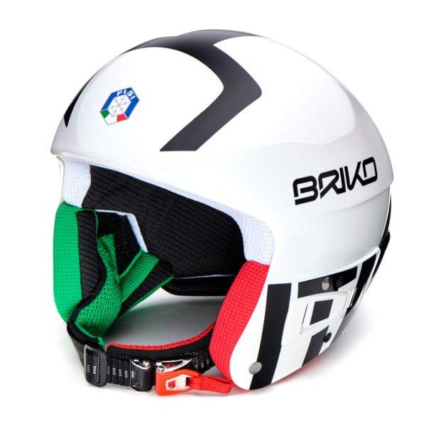 ITALY FISI Vulcano FIS Helmet - White Black