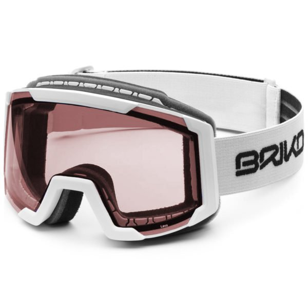 LAVA Goggles - Matt White Ash/P1 Pink