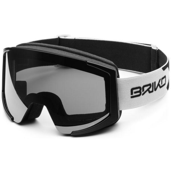 LAVA XL OTG Goggles - Matt White Black/SM3 Silver Mirror