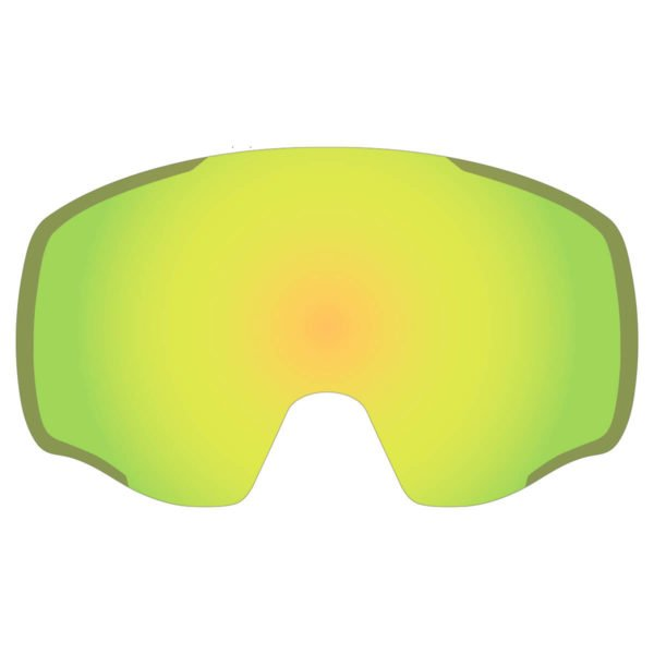 KABA Spare Lenses - YM2 Yellow Mirror DL Cat. 2