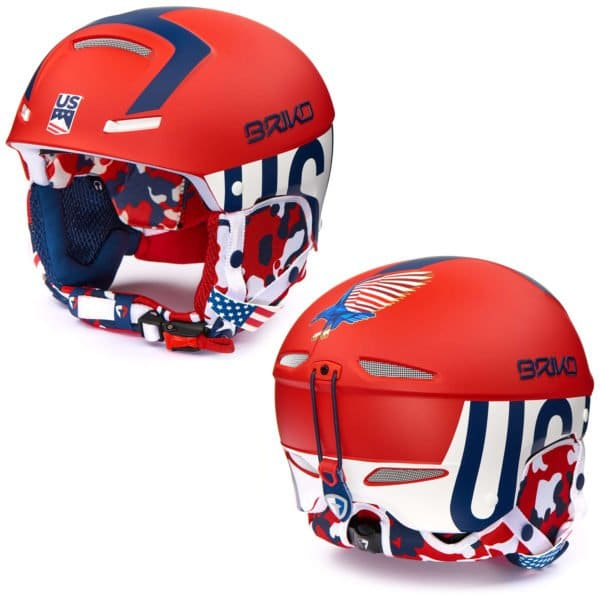 USA Slalom Helmet with Chinguard 1