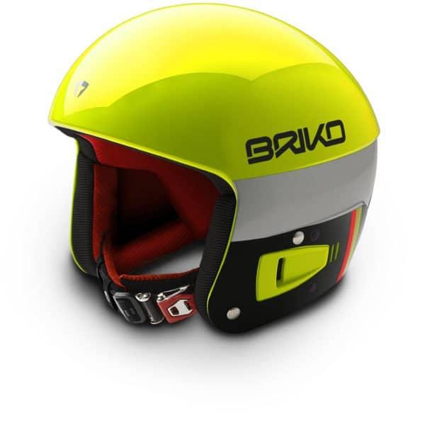 Briko Vulcano FIS Helmet - Yellow Fluo Orange