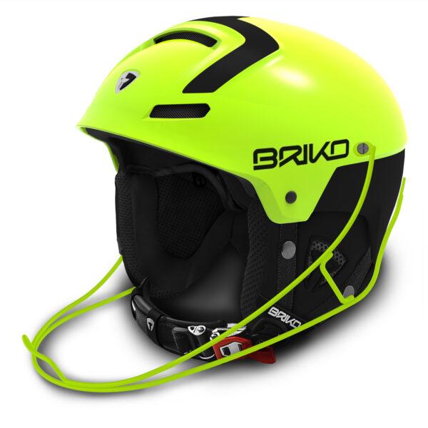 Briko Slalom Helmet with Chinguard on World Cup Ski Shop