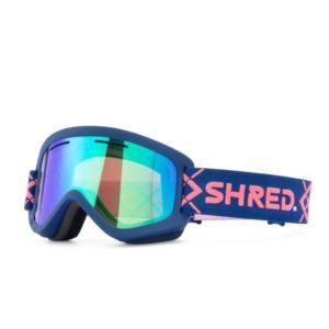 Shred Wonderfy Big Show Navy Goggle w/ 2 Free Bonus Lenses! on World Cup Ski Shop