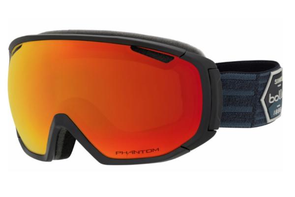 Bolle Tsar - Matte Black Patch w/ Phantom Red on World Cup Ski Shop