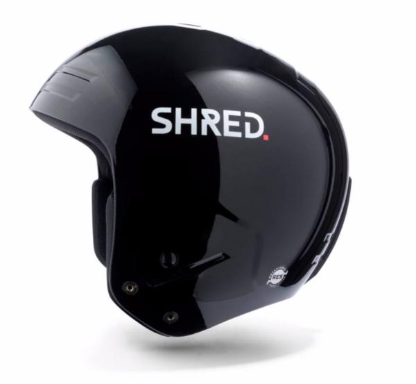 Shred Basher Black helmet on World Cup Ski Shop