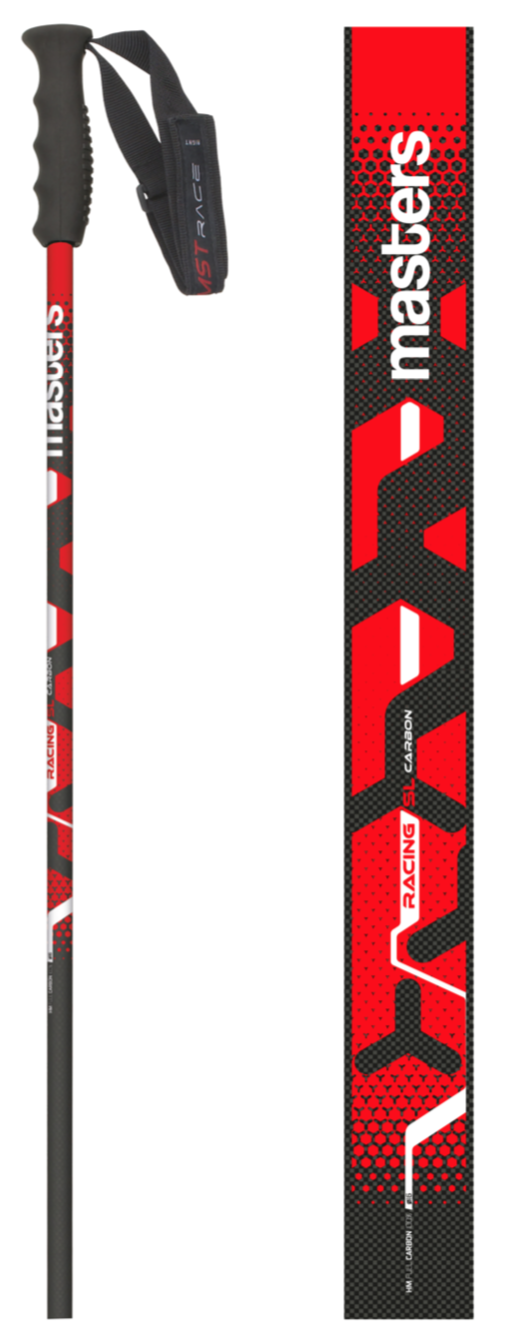 Masters SL CARBON Racing poles - Available Sept 25 on World Cup Ski Shop