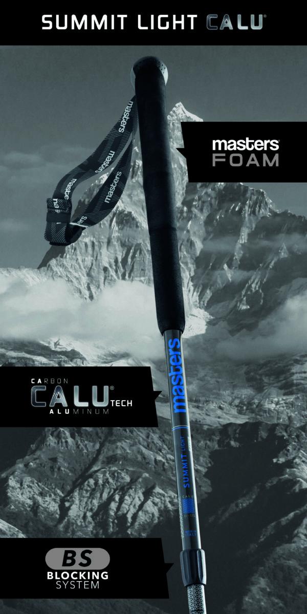 Summit Light CALU trekking poles by Masters on World Cup Ski Shop
