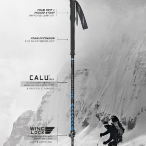 Backcountry / AT adjustable poles by Masters on World Cup Ski Shop 3