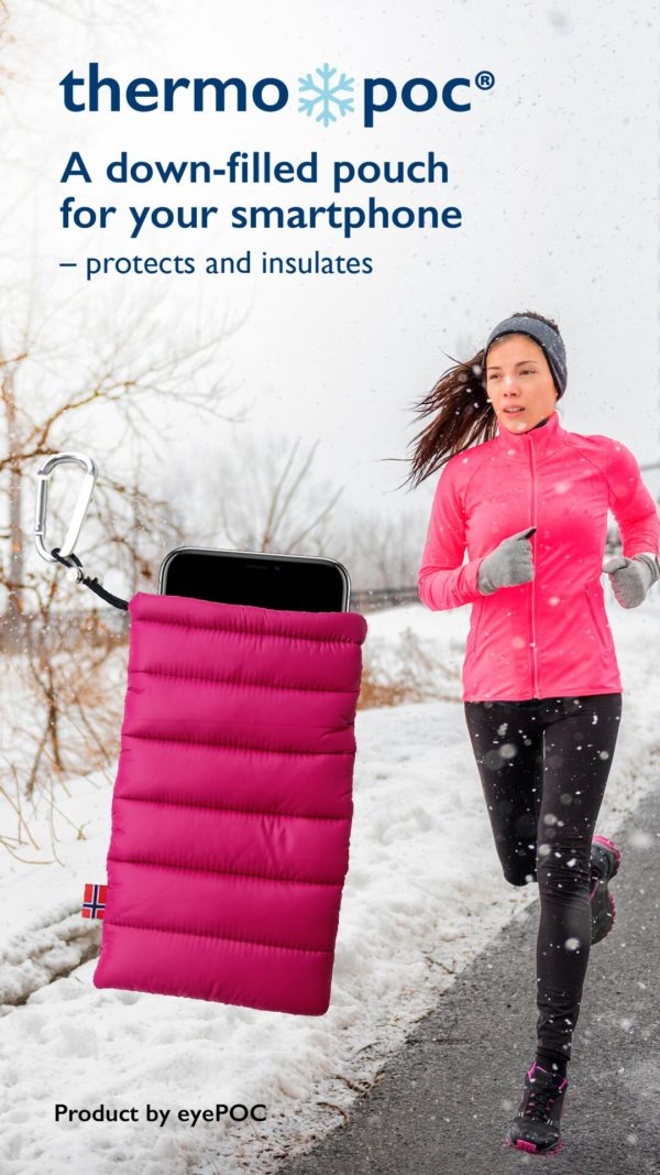 ThermoPoc insulated phone case on World Cup Ski Shop 6