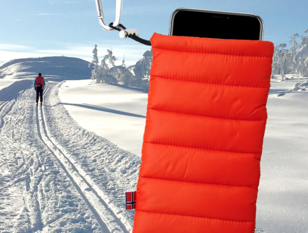 ThermoPoc insulated phone case on World Cup Ski Shop 9