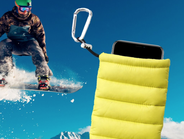 ThermoPoc insulated phone case on World Cup Ski Shop 10