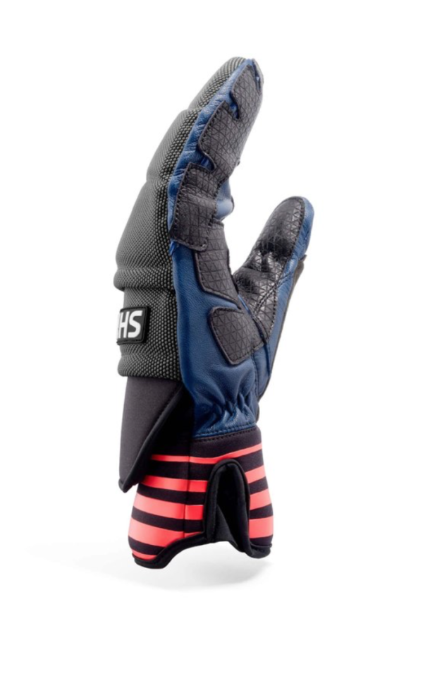 Shred Ski Race Protective Mitts navy/rust on World Cup Ski Shop 1