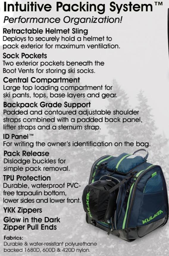 Kulkea Boot Trekker ski boot backpack on World Cup Ski Shop 5