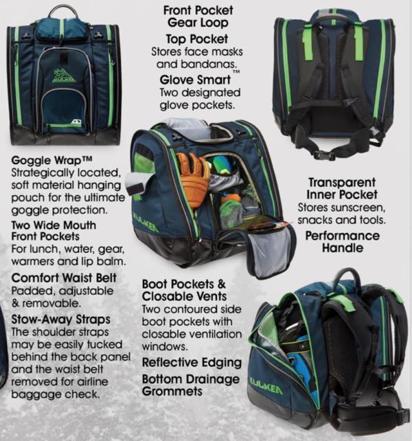 Kulkea Boot Trekker ski boot backpack on World Cup Ski Shop 6