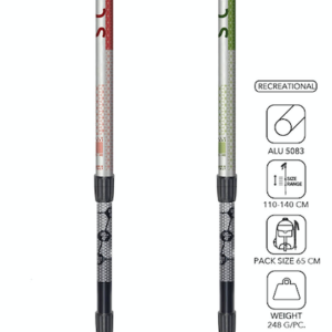 Scout trekking poles by Masters (2 colors) on World Cup Ski Shop