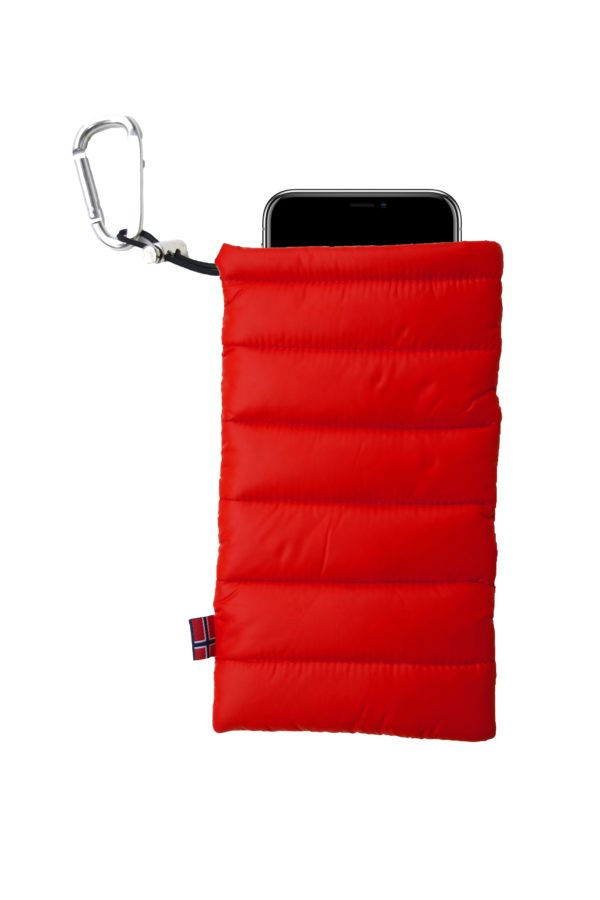 ThermoPoc insulated phone case on World Cup Ski Shop 4