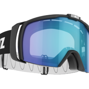 Bliz Nova goggle - black w/ lt. org blue lens on World Cup Ski Shop