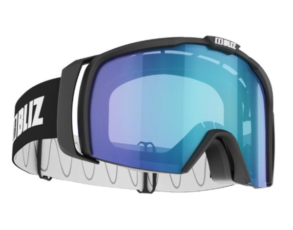Bliz Nova goggle - black w/ lt. org blue lens on World Cup Ski Shop