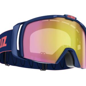 Bliz Nova goggle - black w/ lt. org blue lens (Copy) on World Cup Ski Shop