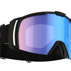 Bliz Nova goggle - black w/ Nordic Light coral blue lens on World Cup Ski Shop 1