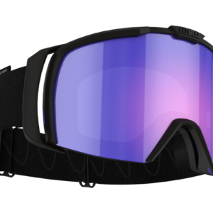 Bliz Nova goggle - black w/ Nordic Light begonia blue lens on World Cup Ski Shop