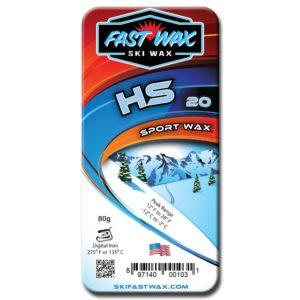 Fast Wax HS 10,20,30 Sport Waxes - 80g bar on World Cup Ski Shop